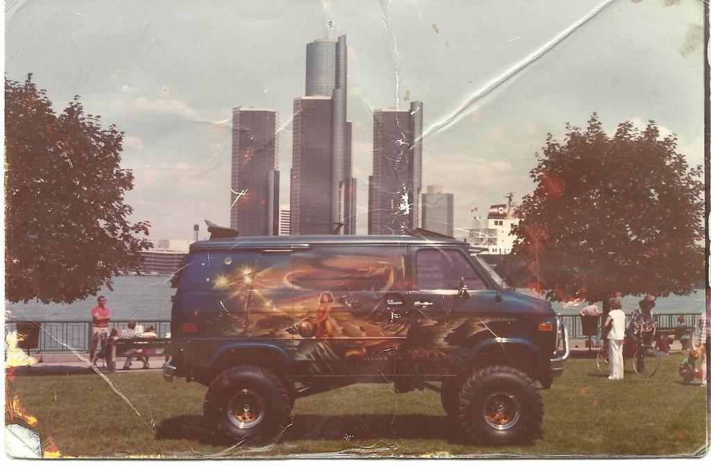Tonys Van X on 1976 Dodge Van